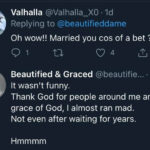 Lady recounts how her ex-husband married her to fulfill a bet