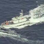 Libya Navy shooting at migrants in the Mediterranean