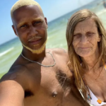 Awesome as 61-year-old woman shows-off 24-year-old boyfriend