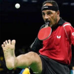 Tokyo Olympics: Ibrahim Hamadtou plays table tennis with bat in mouth, serves with leg