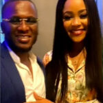 (Video) John Ogu's ex-wife, Veronica Akaolisa, engaged in London