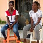 Senegalese twin girls graduates impressively