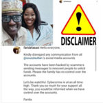 Sound Sultan wife raise alarm over hackers invasion on late husband's social media handles
