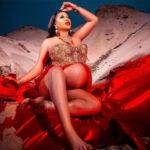 Toyin Lawani, Segun Wealth welcomes baby girl, 3rd child