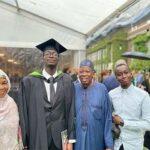 Kano state gov son bags degree from UK Regent University