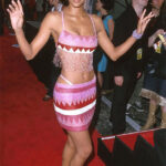 Halle Berry Showcases Beads Beauty