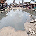 Ojo residents beg governor Babajide Sanwolu to fix bad roads