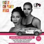 Modeling competition for the 'FACE OF GIRL POWER AFRICA'