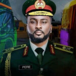 general Pere hospitalised hours after receiving gifts from fans