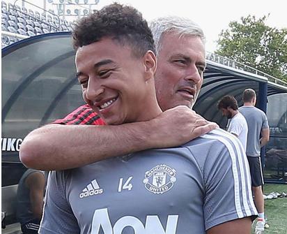 Mourinho Lingard