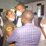 (Video) Mother of five ruins wedding of her husband to another woman