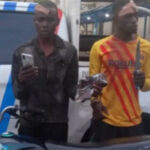 Traffic robbers jailed for three years